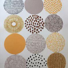 Scandinavian Geometric Circles Wall Art