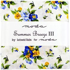 Moda Summer Breeze III Charm Pack, 42 5-inch Cotton Fabric Squares Shoreline Handwerks http://www.amazon.com/dp/B00O3GGJ0W/ref=cm_sw_r_pi_dp_1.Ucvb197E8NE