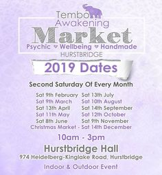 Hurstbridge Psychic & Wellbeing Market.  I will be there doing Readings, selling my handmade Smudge Sticks, Fragrance oil & energy sprays.  Such a wonderful market to attend. So much on offer, Readings, Healings, Spiritual Craft, Massage, Yummy Food, Forensic Healing and much much more.  Come say Hi! Clairvoyant Readings, Smudge Sticks, Say Hi, Sprays, Fragrance Oil, Smudging, Awakening, Massage, Spirituality