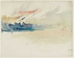 Joseph Mallord William Turner - Sky Studies (1820-30) - Watercolor on paper
