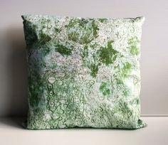Pillow cover decorative cushion MOONSCAPE moon by mybeardedpigeon, $55.00