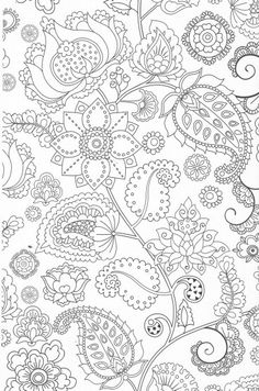 Here Are Coloring Pages Inspired By The Beauties Of Nature Flowers Leaves Lush Many Details Hidden In These Adults Floral Whose