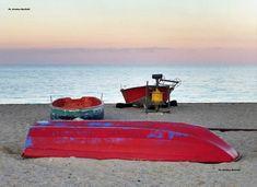 Spiaggia pescatori Schiavonea, Calabria