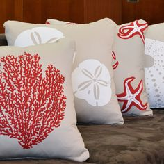 ocean pillows google image result for httpwwwwabisabigreencom sea coral decorcoral throw - Coral Decorative Pillows