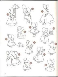 patrones muñecas de patchwork by maribel