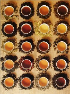 The colors of tea