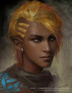 m Elf Bard portrait Banque d'Image Collective Avataresque - Page 2 Fantasy Races, Fantasy Rpg, Medieval Fantasy, Fantasy Portraits, Character Portraits, Elf Characters, Fantasy Characters, Skin Boy, Fantasy Inspiration