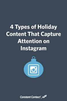 How can you capture the attention of holiday shoppers on social media?  Visual content is the way to go! Photos, videos, and word images (text overlayed on a photo or background design) will help your holiday marketing stand out and encourage busy consumers to shop with you.  More than half of customers are influenced by product images, so don't underestimate the impact images can have on your holiday sales.