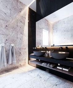 kolor i faktura płytek na ścianie oraz podłogi, połączenie jasne z ciemnym