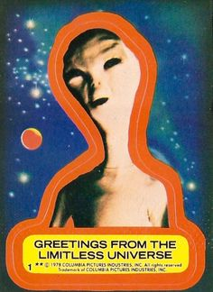 1978 Topps Close Encounters Of The Third Kind trading card