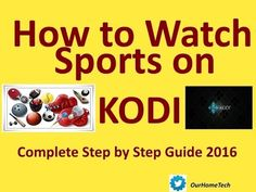 All your Kodi Needs . Easy plain English and easy to follow video tutorials. Free Sports Free Movies Free Tv Shows