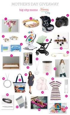 Check out my top picks for Mother's Day, plus your chance to win amazing prizes!