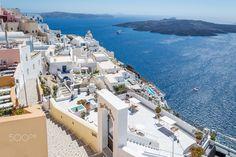 white world - Santorini, Greece
