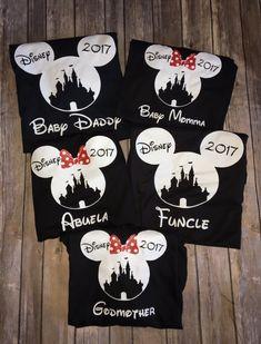 Family Matching Disney Shirts Mickey Mouse Minnie Mouse Princess Castle Disneyland Disney World Women Men Kids Baby Boy Girl Toddler Vacation Custom Personalized Birthday #disney #mickey #minnie #custom #princess #shirt #women #men #kids #baby #boy #girl #toddler
