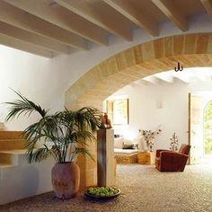 Una casa rústica y chic en Mallorca
