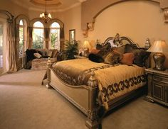 luxury master bedroom - Buscar con Google