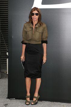Carine Roitfeld Photos: Saint Laurent : Outside Arrivals - Paris Fashion Week - Menswear S/S 2015
