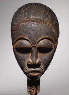 Portrait mask  -  Baule, Côte d'Ivoire  -  Totokro Master