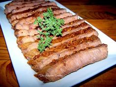 TheKitchenCookie: London Broil  Nice quick way to cook london broil