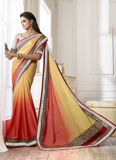 Yellow Wear #Wedding Wear #Saree  Visit…