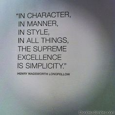 character,-manner-style-simplicity❤️☀️