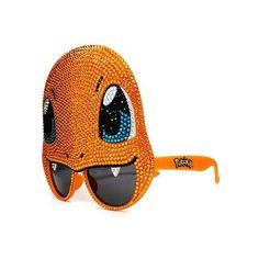 Designer Swarovski Crystal Pokemon Charmander Sunglasses