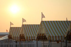 Congress Hall beach tents, Cape May