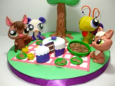 Littlest Pet Shop — 3D Figures