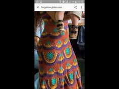 Vestido/Saída de praia em crochê - Parte 1 - YouTube