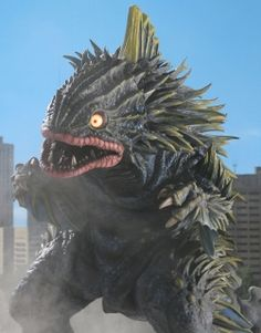 King Gesura from Ultra Zone Japanese Funny, Vintage Japanese, Japanese Monster Movies, Lizard Species, Strange Beasts, Zombie Monster, Vintage Horror, Creature Feature, Godzilla Height