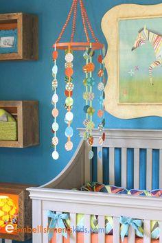mobile- Aaron Christensen Artist, Designer and Art Licensing Professional. Embellishments Studio specializes in children's interior design, celebrity and kids nurseries, bedrooms and rooms for teens and tweens.