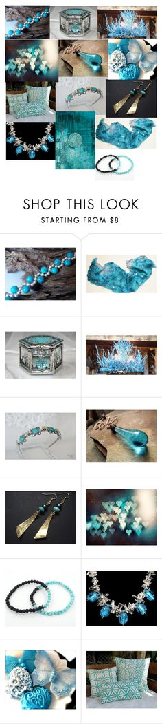 """""""Turquoise"""" by andreadawn1 ❤ liked on Polyvore featuring Hostess"""