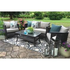 Costco Soho 6 piece Deep Seating Set by Sirio™ Deck