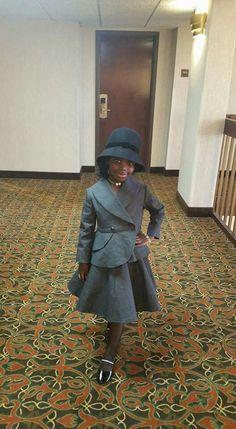 Little girl vintage style dress