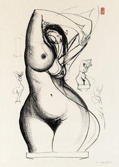 Brett Whiteley, Towards Sculpture 1977