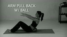 Arm Pull Back With Ball | Kondi Callanetics