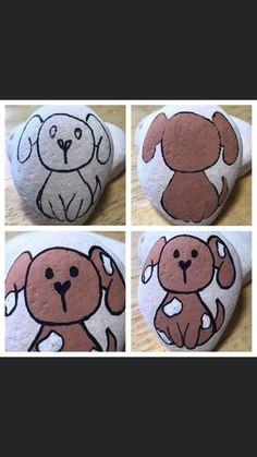 Stone Art Painting, Pebble Painting, Dot Painting, Pebble Art, Rock Painting Patterns, Rock Painting Ideas Easy, Rock Painting Designs, Painted Rocks Craft, Hand Painted Rocks