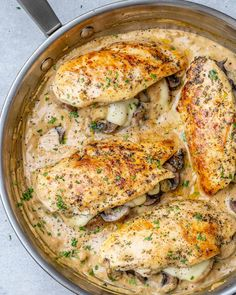 Pan Seared Southwestern Salmon Recipe | Healthy Fitness Meals Mushroom Stuffed Chicken Breast, Mushroom Chicken, Stuffed Mushrooms, Stuffed Peppers, Salmon Recipes, Chicken Recipes, Eat This, Brunch, Breast Recipe