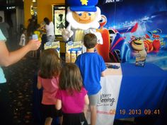 WMMS 6/19/2013 at our Cinema 12 Theatre.  Kernel from Kernel Seasons stopped by for a visit.