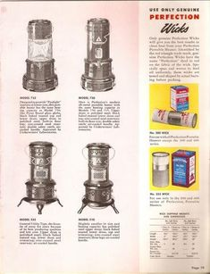 History of the Perfection Stove Company 2014 Mother's Day Oil Heater, Kerosene Heater, How Do You Clean, Portable Heater, Antique Stove, Cooking Oil, Oil Lamps, Vintage Kitchen, Wicked