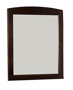 American Imaginations AI31141 Rectangle Wood Framed Mirror without Shelf 24Inch x 32Inch Walnut Finish -- To view further for this item, visit the image link.