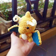 Dragonite [FREE SHIPPING] Crochet Amigurumi Chibi Pokemon Fanart Plush https://www.etsy.com/listing/247788956/free-shipping-chibi-dragonite-crochet?ref=shop_home_active_24
