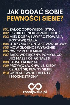 Jak dodać sobie pewności siebie. 10 sprawdzonych sposobów. #blog #motywacja ... - #Blog #dodać #Jak #motywacja #pewno #pewności #siebie #sobie #sposobow #sprawdzonych Colleges For Psychology, Coping Skills, Life Motivation, Self Development, Better Life, Self Improvement, Motto, Good To Know, Positive Vibes