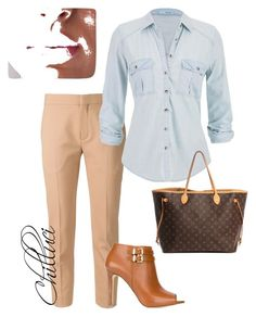 Business Women by chilluci on Polyvore featuring maurices, Chloé, MICHAEL Michael Kors and Louis Vuitton