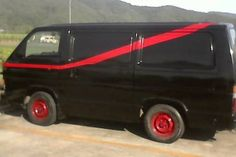 1990 Toyota Hiace A TEAM VAN | Cars, Vans & Utes | Gumtree Australia Cairns City - Cairns | 1149353723 A Team Van, Van Car, Toyota Hiace, Cairns, Campervan, Used Cars, Road Trip, Trucks