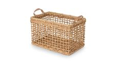 Grid Natural Rectangular Basket - Baskets - Article | Modern, Mid-Century and Scandinavian Furniture