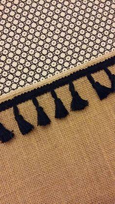 Sac Cabas Black Star Toile de jute coton tissé