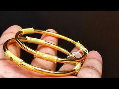 Plain Gold Bangles | Tanishq designs | 2020 - YouTube Plain Gold Bangles, Bracelets, Youtube, Jewelry, Design, Jewlery, Jewerly, Schmuck