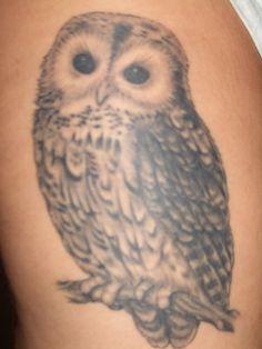 Owl tattoo by Alaina's PhotoPhile, via Flickr
