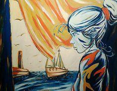 """Check out new work on my @Behance portfolio: """"Felicia e il mare"""" http://be.net/gallery/34678887/Felicia-e-il-mare"""